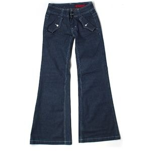 Vigoss Dark Wash Flared Jeans